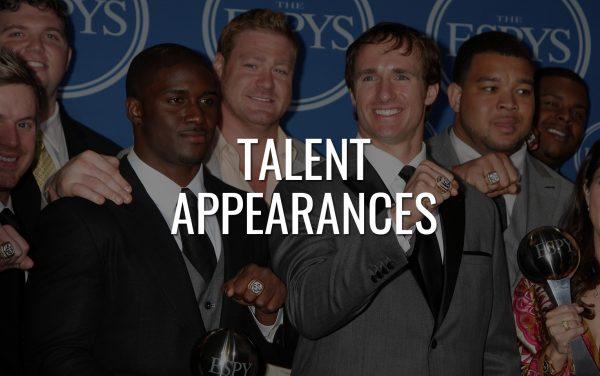 Talent Appearances